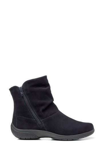 Hotter Whisper Extra Wide Fit Zip Fastening Ankle Boots