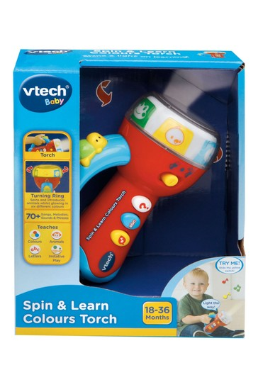 VTech Baby Spin & Learn Colours Torch 185903