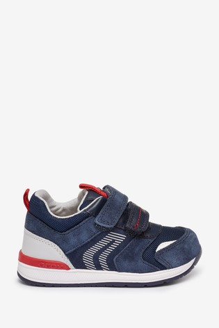 Geox Baby Boy's Rishon Navy Shoes