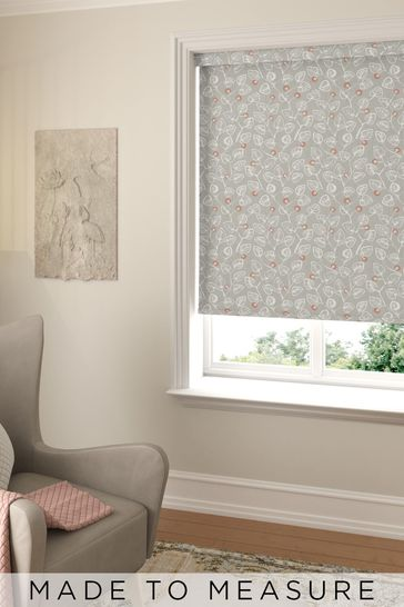 Leya Natural Coral Made To Measure Roller Blind