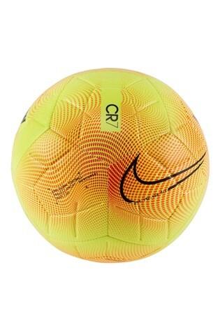 Nike Yellow CR7 Strike Football