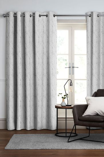 Monroe Oyster Grey Made To Measure Curtains