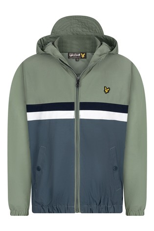 Lyle & Scott Stripe Windcheater Jacket
