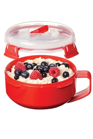 Sistema Microwave Porridge To Go Cooker And Food Carrier