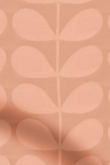 Orla Kiely Pink Jacquard Stem Made To Measure Roman Blind