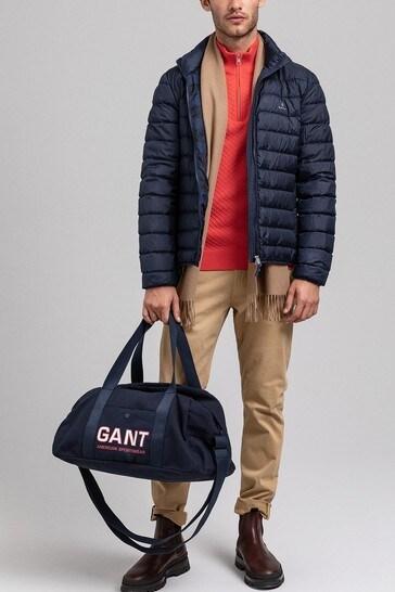 GANT Blue Light Down Coat