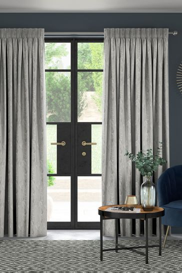Monroe Pewter Grey Made To Measure Curtains