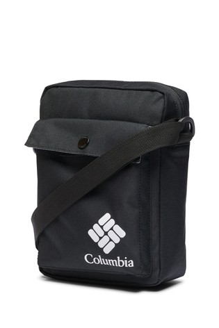 Columbia Black Zig Zag Side Bag