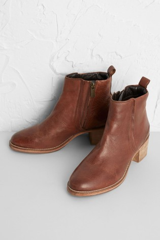 Seasalt Brown Rinsey Boots