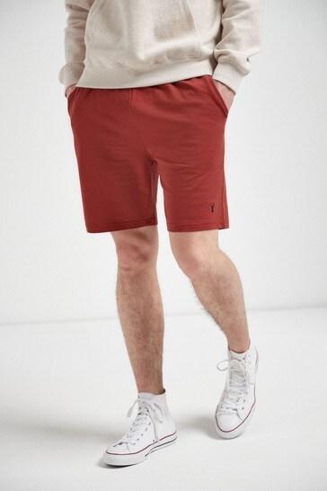 Red Shorts Lightweight Loungewear