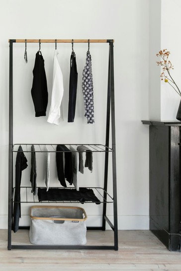 Large Linn Clothes Rail And Storage Unit by Brabantia
