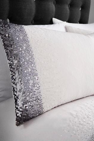 Caprice Monroe Luxury Embellished Duvet Cover and Pillowcase Set