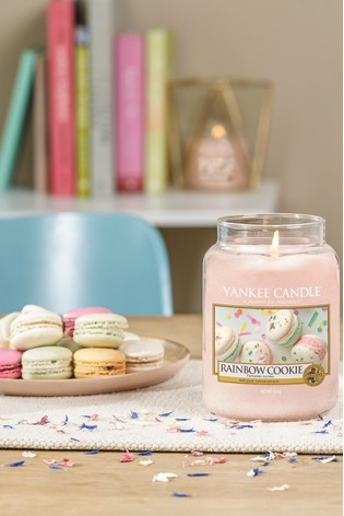Yankee Candle Classic Large Rainbow Cookie Candle