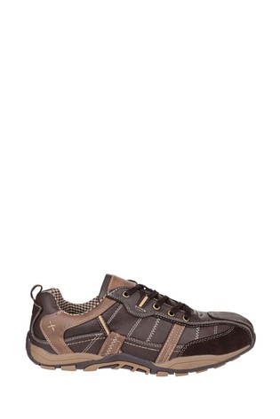 Fleet & Foster Brown Portsmouth Casual Shoes