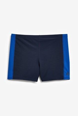 Blue/Navy Active Performance Swim Shorts
