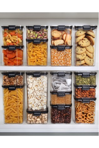 Sistema Titan 920ML Square Food Storage Container