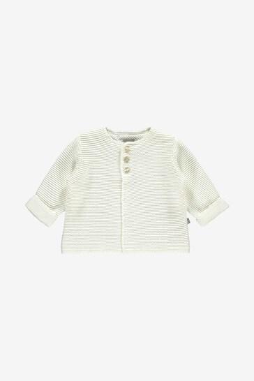 The Little Tailor Cream Cotton Cardigan