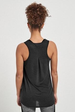 Charcoal Neppy Lightweight Sports Vest