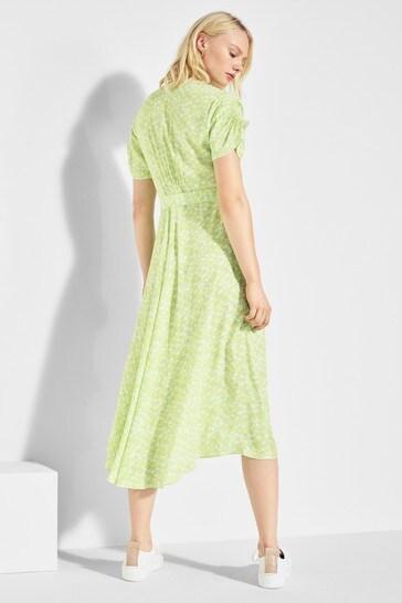 Mix/Alice Archer Floral Wrap Dress