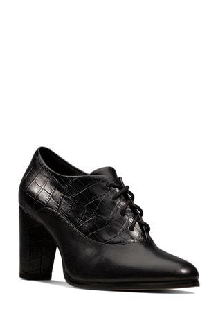 Clarks Black Kaylin Ida Shoes