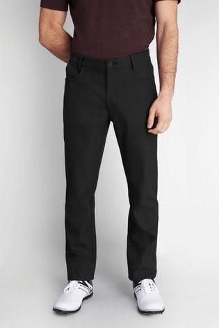 Calvin Klein Golf Black Artic-Tech Bonded Trousers