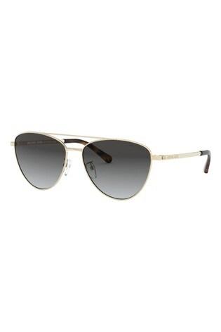 Michael Kors Light Gold Barcelona Sunglasses