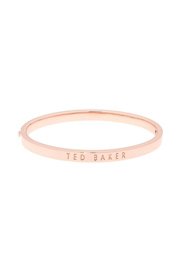 Ted Baker Metallic Clemina Hinge Crystal Bangle