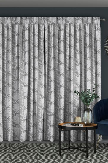 Hampson Graphite Grey Made To Measure Curtains