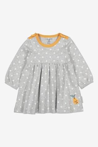 Polarn O. Pyret Grey GOTS Organic Nordic Dress