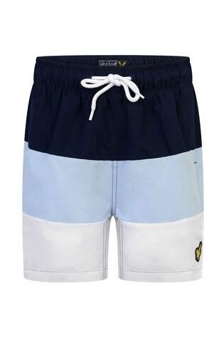 Lyle & Scott Boys Wide Stripe Swim Shorts