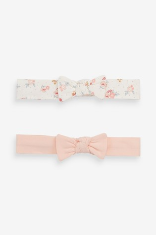 Pink Headbands Two Pack (0mths-2yrs)