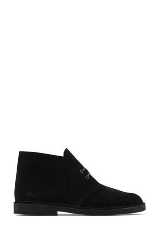 Clarks Black Sde Desert Boot 2 Boots