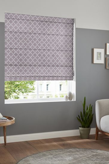 Helio Heather Purple Made To Measure Roman Blind
