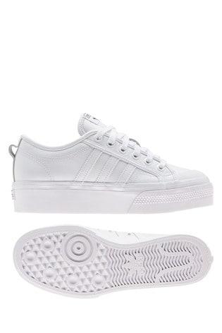 Buy adidas Originals White Leather