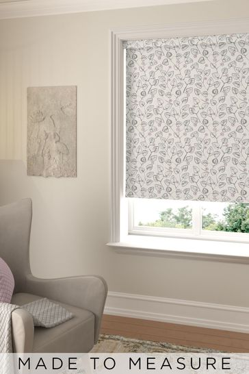 Leya Petal Purple Made To Measure Roller Blind