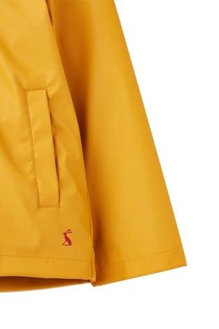 Joules Yellow Riverside Character Rubber Coat