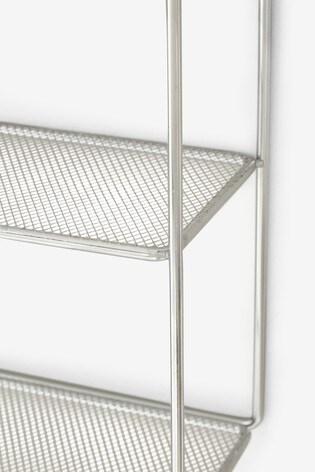 Metallic Square Shelf