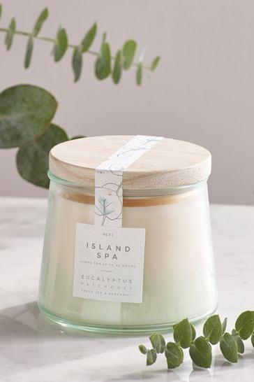Island Spa Lidded Jar Candle