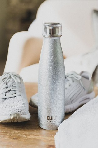 Built Perfect Seal Glitter Drinks Bottle 500ml