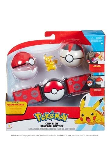 Pokémon™ Clip N Go Poke Ball Belt Set: Pikachu