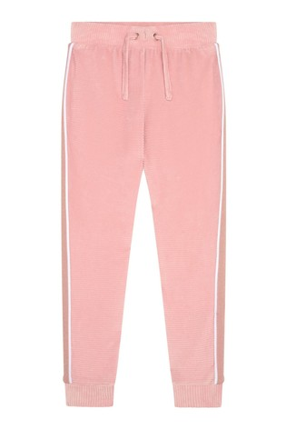 F&F Pink Velour Joggers