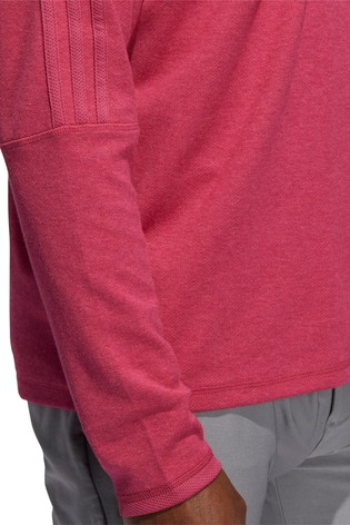 adidas Golf 3 Stripe 1/4 Zip Top