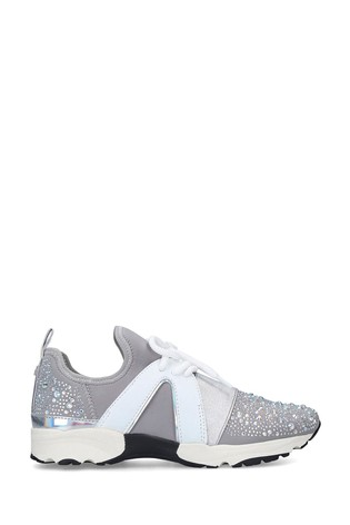 Carvela Lament Bling Grey Trainers