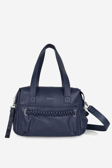 Girls Blue Braided Changing Bag