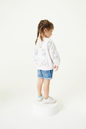 Denim Blue Pull-On Shorts (3mths-10yrs)