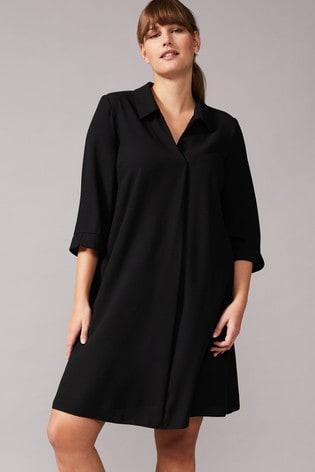 Studio 8 Black Bette Swing Dress