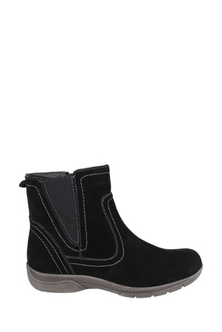 Fleet & Foster Black Malmo Ankle Boots