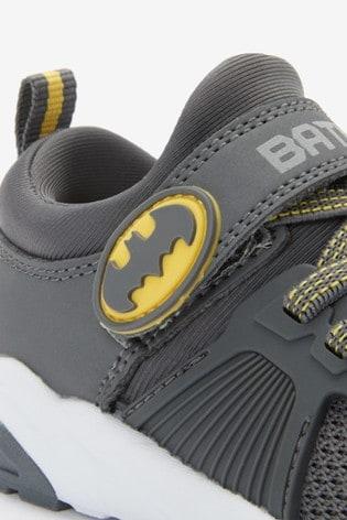 Grey Batman® Elastic Lace Trainers