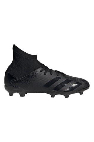 adidas Black Predator P.3 FG Junior & Youth Football Boots