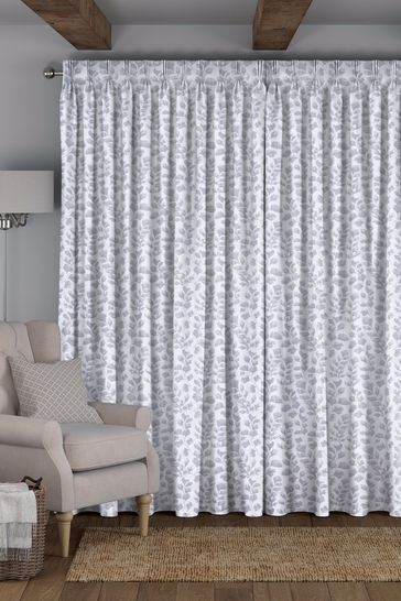 Lucerne Silver Grey Made To Measure Curtains